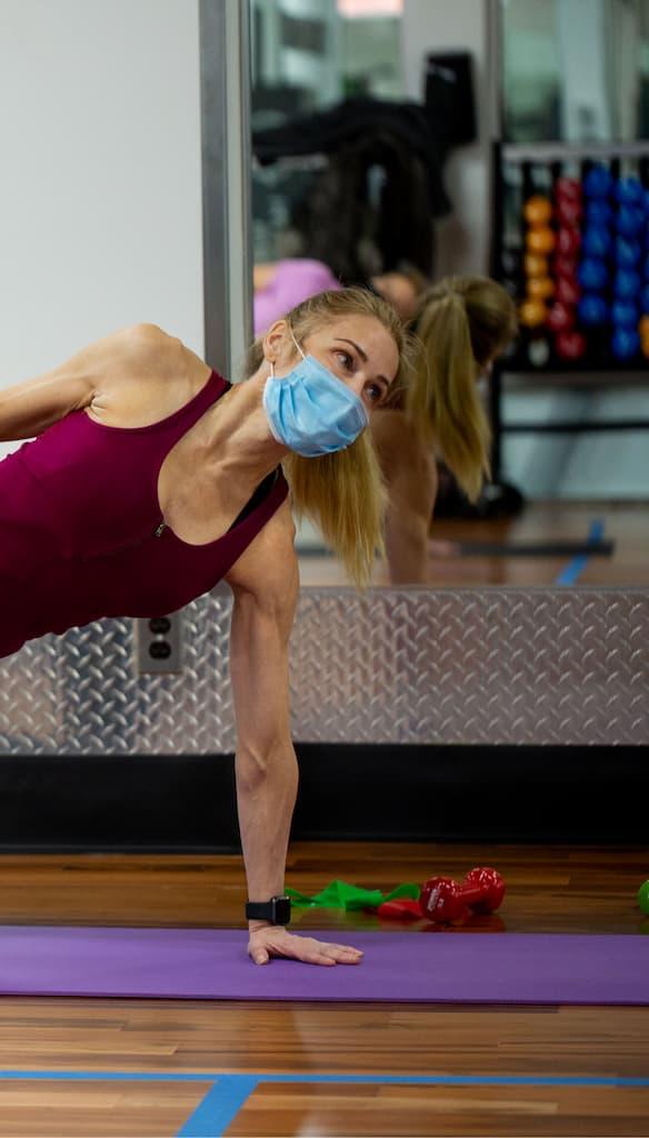 yoga at hydrogen fitness