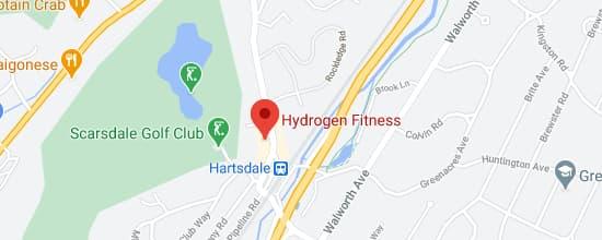 Hydrogen fitness google maps